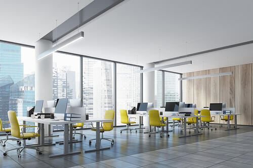open offices smart lighting